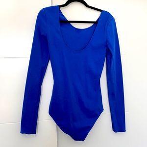Aritzia high neck/low back long sleeve Body Suit